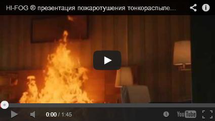 Презентация системы пожаротушения HI-FOG ®